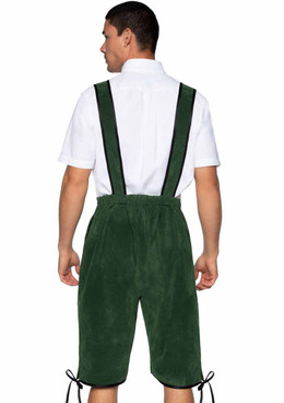 LA86929, Men's Beerfest Lederhosen Back View Leg Avenue