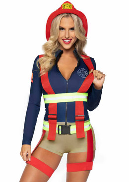 LA-86921, Hot Zone Honey Costume by Leg Avenue
