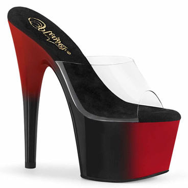 "Adore-701BR, 7"" Two-Tone Platform Slide by Pleaser"
