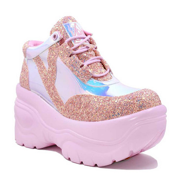 YRU | MATRIX, 3.5 Inch Glitter Shoes