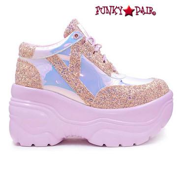 MATRIX, 3.5 Inch Glitter Platform by YRU Shoes