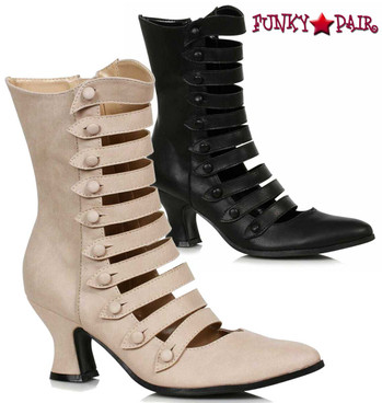 Ellie Shoes | 253-Ava, Victorian Boots