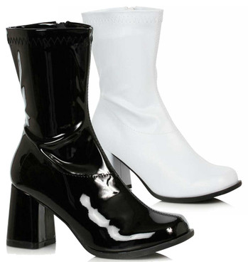 300-Ziggy, Ankle GOGO Boots By Ellie Shoes