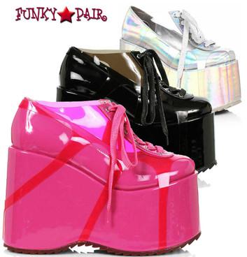 "Ellie Shoes | 500-SUNNY, 5"" Chunky Platform Shoes"