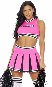 FP-550331, Score! Sexy Cheerleader Costume By ForPlay