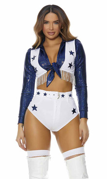 FP-551560, Seeing Stars Sexy Cheerleader Costume By ForPlay