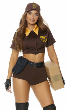FP-551516, Precious Cargo Sexy Postal Delivery Costume By ForPlay