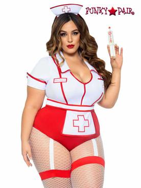 Leg Avenue | LA-87086X, Plus Size Nurse Feelgood Costume