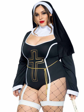LA-86978X, Plus Size Sister Sin Costume By Leg Avenue