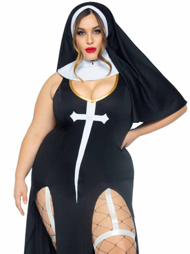 LA-86972X, Plus Size Sister Sin Costume By Leg Avenue