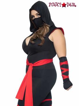 Leg Avenue | LA-85087X, Plus Size Deadly Ninja Costume