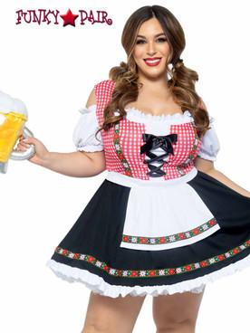 Leg Avenue | LA-86746X, Plus Size Beer Girl Costume