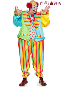 "Leg Avenue LA86941, Circus Clown Men""s Costume"