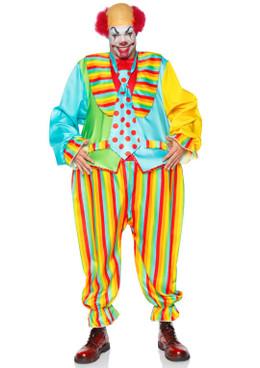 "LA86941, Circus Clown Men""s Costume by Leg Avenue"