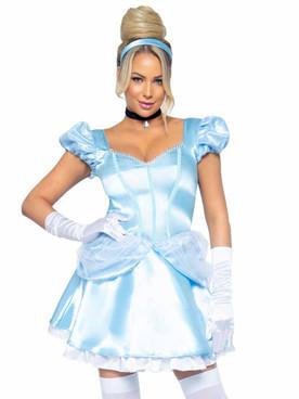 LA87073, Storybook Cinderella Costume By Leg Avenue