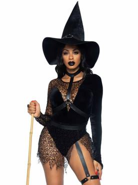 LA87068, Crafty Witch Costume By Leg Avenue