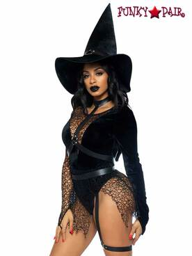 Leg Avenue LA87068, Crafty Witch Costume