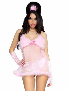 LA87088, Fem-Babe Costume By Leg Avenue