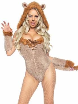 LA86992, Savage Lion Costume By Leg Avenue