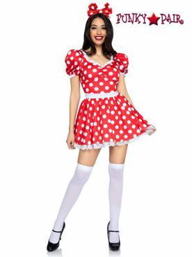Leg Avenue | LA87087, Polka Dot Sweetheart Dress