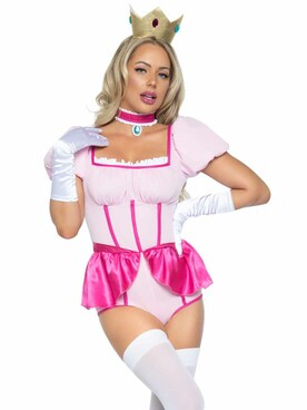 LA86989, Sexy Pink Princess Costume By Leg Avenue
