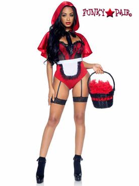 Leg Avenue Naughty Miss Red Costume | LA86975