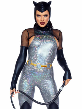 LA86996, Feline Felon Costume By Leg Avenue
