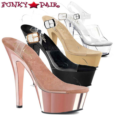 Pleaser Shoes | Ankle Strap Sandal KISS-208 | FunkyPair.com