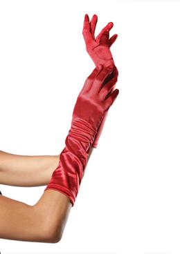 8B, Satin Elbow Gloves