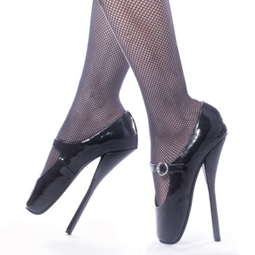BALLET-08BP, 7 Inch High Heel ballet shoe fetish Made By Devious