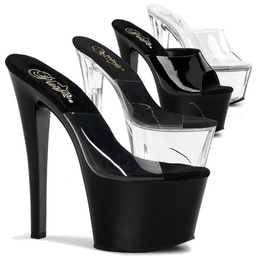 "SKY-301, 7"" Platform Sandal by Pleaser"