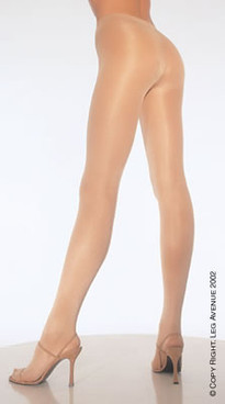 0992Q, Plus size color Nude Opaque Sheer to Waist Tights