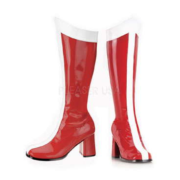 FuntasmaGOGO-305, 3 Inch Heel Wonder Woman Knee High Boot