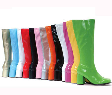 Ellie Shoes   70s Go Go Boots E-gogo