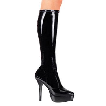 Pleaser INDULGE-2000 Stretch Platform Boot