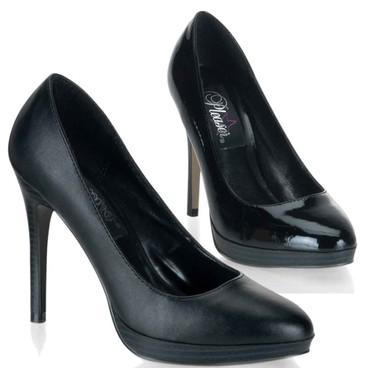 Stiletto Heel Mini-Platform Pump   Pin-Up Couture Shoes BLISS-30