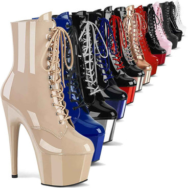 ADORE-1020, 7 Inch Exotic Dancer Ankle Boots by Pleaser USA