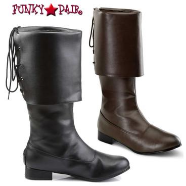 Funtasma | PIRATE-100, Men's Pirate Boots