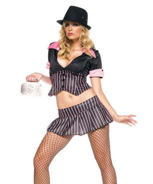 Mobster Girl Costume