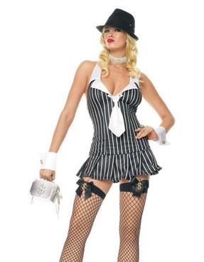 LA-83284, Miss Mafia Costume