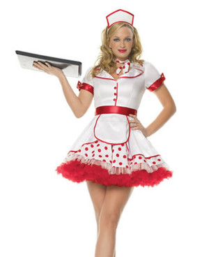 Diner Betty Costume