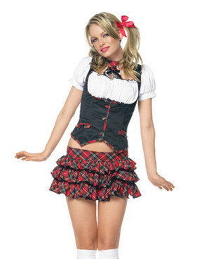 Little Miss Naughty School Girl Costume (83355)