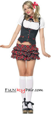 Little Miss Naughty School Girl Costume (83355)