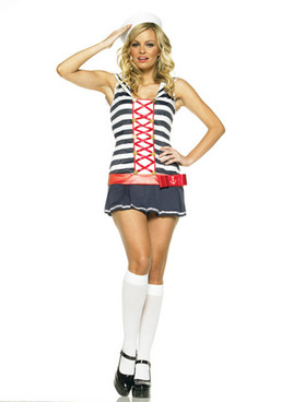 Striped Sailor Costume (83375)