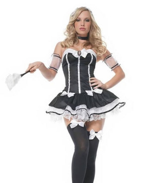 83441,French Maid Costume