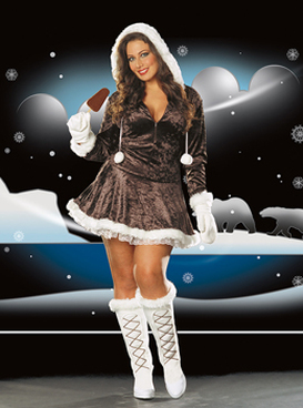 Eskimo Cuite Costume CLEARANCE SALES ARE FINAL