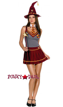 DreamGirl Costume Wizard Academy School Girl 5190 CLEARANCE SALES ARE FINAL