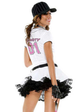Forplay Costume | FP-557101, Fantasy League back view