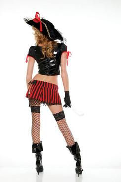 FP-557206, Sultry Swashbuckler Costume