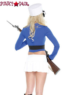 Forplay Costume | FP-557229, Toy Soldier close up back view